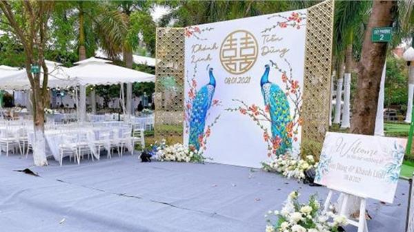 Đám cưới của Tiến Dũng và Khánh Linh ở Bắc Ninh: Không gian lộng lẫy như lâu đài, chú rể 'vồ ếch' ngay tại sân khấu