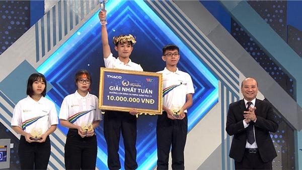 Nam sinh Quảng Trị giành vòng nguyệt quế sau phần thi Về đích đầy khốc liệt, chỉ cách biệt đúng 5 điểm với người về nhì