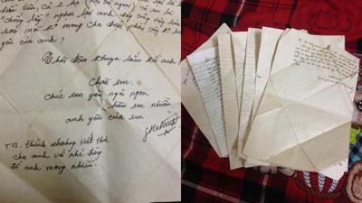Thanh xuân của bố mẹ gói trong những bức thư tình đợi mong