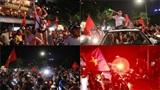 CĐV Việt 'sống lại' không khí ăn mừng chiến thắng ở Thường Châu hôm nào