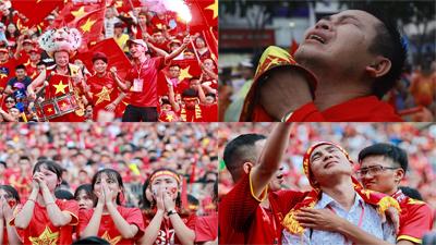 1001 cảm xúc của CĐV trong trận cuối cùng của Oympic Việt Nam tại ASIAD 2018