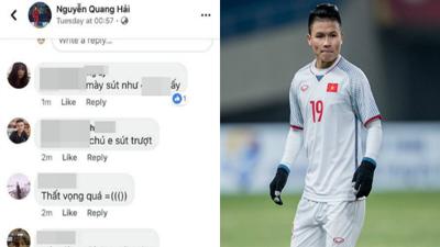 Quang Hải bị CĐV quá khích lăng mạ, mắng chửi là 'kẻ tội đồ' vì sút trượt penalty