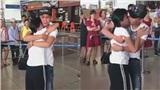 Xúc động clip cặp đôi yêu xa khóc cạn nước mắt thời khắc chia ly