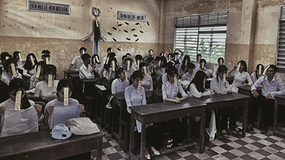 'Lớp học cương thi' - bộ ảnh kinh dị của teen An Giang khiến dân mạng ám ảnh