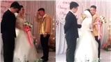 Clip xúc động: Ngày chị gái cưới chồng, em trai vừa trao của hồi môn vừa ôm chị khóc như mưa