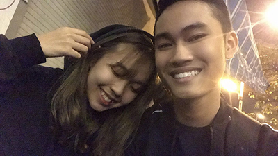 'Cậu Vàng' Văn Tân công khai bạn gái hơn tuổi