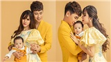 Huy Cung lần đầu chia sẻ cảm giác làm bố, tung bộ ảnh gia đình đẹp lung linh