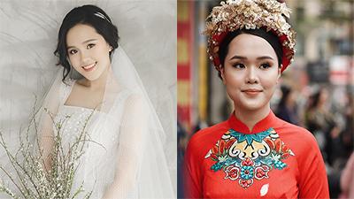 Ngắm nhan sắc của Quỳnh Anh trong đám hỏi, dân mạng đặt nghi vấn: 'Phải chăng 'công chúa béo' có thù với người make-up?'