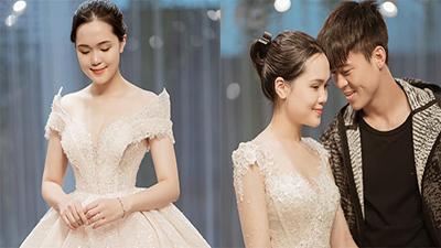 Vợ chồng Duy Mạnh tình tứ đưa nhau đi thử váy cưới, Quỳnh Anh thừa nhận mình khó make up, dễ bị già