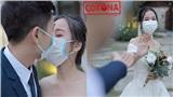 Cặp đôi 'bắt trend' Corona, đeo khẩu trang khi chụp ảnh cưới nói gì trước phản ứng trái chiều của dân mạng?
