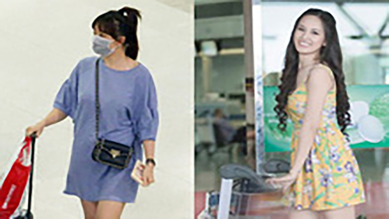 Sao Việt với những outfit sân bay cả đời không muốn nhìn lại: Hari Won bị hiểu lầm bầu bí, Mai Phương Thúy diện váy 'thiếu nhi'