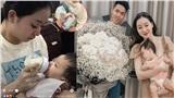 Vờ không chúc sinh nhật làm vợ khóc sụt sùi, cuối ngày chồng 9X 'tạ lỗi' bằng 10 triệu tiền mặt và bó hoa 'siêu to khổng lồ'