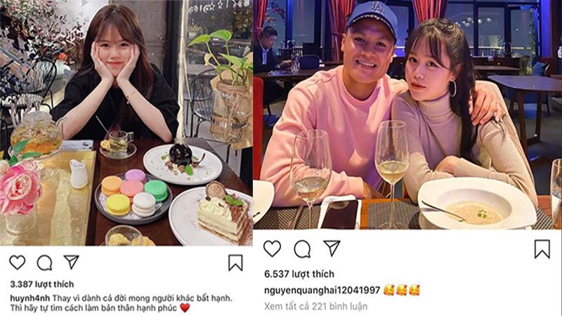 Huỳnh Anh - bạn gái mới Quang Hải nói gì sau khi được nam cầu thủ công khai mối quan hệ?