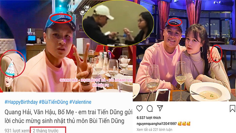 Quang Hải ra mắt Huỳnh Anh với bạn bè sau 4 ngày đi ăn cháo đêm với Nhật Lê?