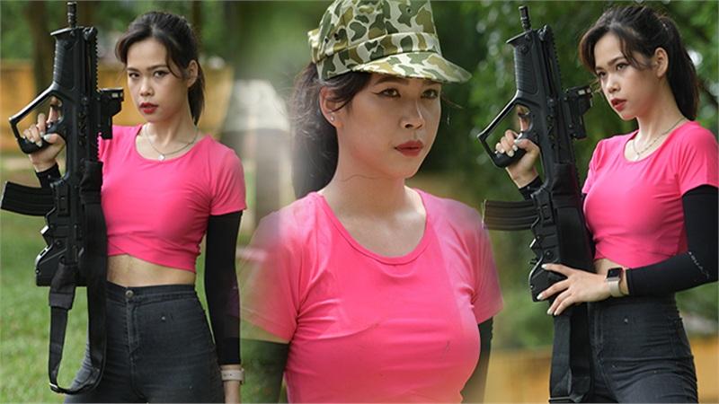 'Nữ hoàng xạ thủ' Nina Phạm: Ngoài đời xinh đẹp, cá tính, trên thao trường giành thế chủ động, điểm xạ cực 'gắt'