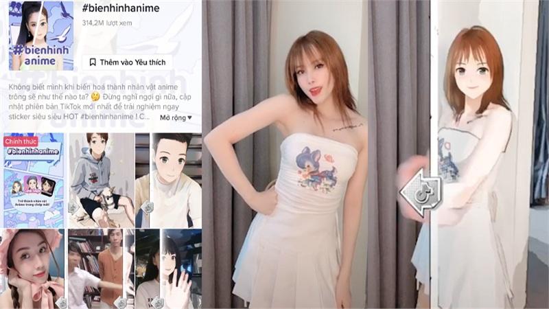 Giới trẻ Việt rần rần trước trào lưu 'Biến hình Anime'