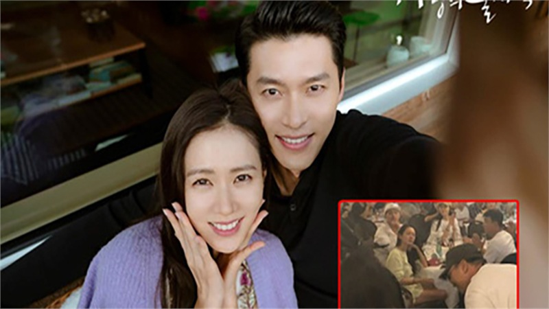 Bộ ảnh hậu trường 'Hạ cánh nơi anh' lần đầu được tiết lộ: Son Ye Jin khoe đùi trắng nõn, còn sử dụng đồ chung với Hyun Bin?