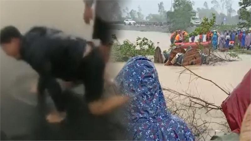 Tìm thấy thi thể của thai phụ bị nước lũ cuốn trôi tại Huế