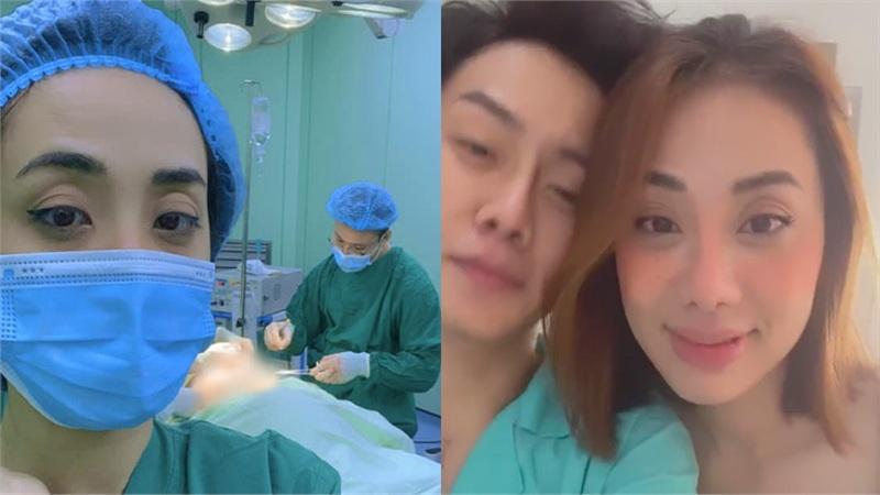 Người yêu chuyển giới của Miko Lan Trinh phẫu thuật bỏ ngực