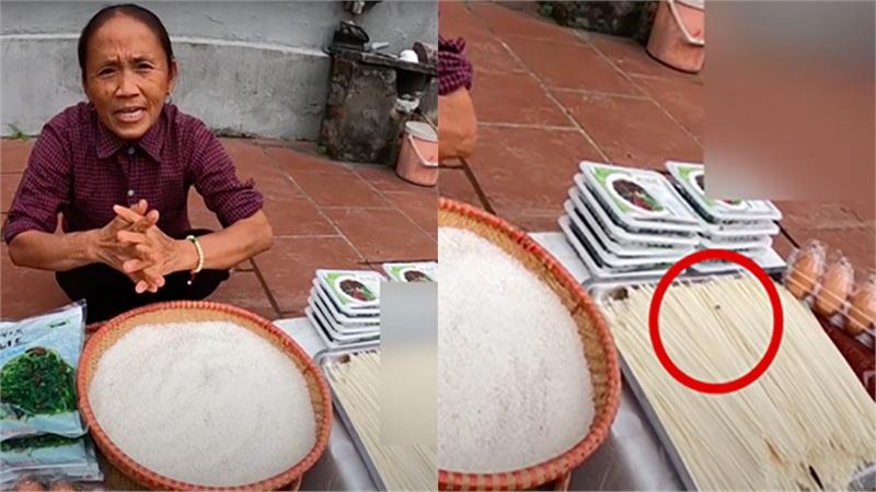 Bà Tân Vlog bị dân mạng vạch trần chuyện cố 'che đậy' cảnh ruồi bu trên đồ ăn