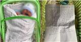 Bé trai sơ sinh bị bỏ rơi ở cổng chùa giữa trời giá rét
