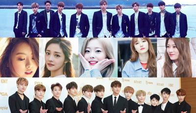 Đại chiến Kpop tháng 6: Wanna One, Pristin, Seventeen đồng loạt trở lại