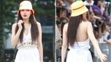 Hyuna tiếp tục bị chỉ trích vì lộ hình xăm ở nơi nhạy cảm