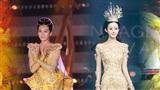 So bì trang phục và nhan sắc của Địch Lệ Nhiệt Ba với các 'Nữ thần Kim Ưng' năm ấy