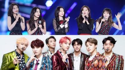 Nhận giải thành tựu văn hóa, BTS và Red Velvet bị netizen la ó phản đối, cho rằng không xứng đáng