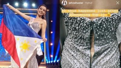Chung kết Miss Supranational 2018: Trước giờ G, đại diện Philippines 'tá hỏa' vì váy hỏng tan nát