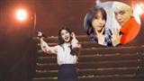 Khoảnh khắc cảm động: IU tưởng nhớ người bạn quá cố Jonghyun trong concert của mình