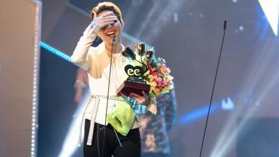 'Lụi tim' với chùm ảnh nhiều cảm xúc của Vũ Cát Tường trên sân khấu Keeng Young Awards 2018