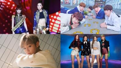 Đường đua Kpop tháng 3: Black Pink, Park Bom, Wanna One và TXT đã đủ nóng?