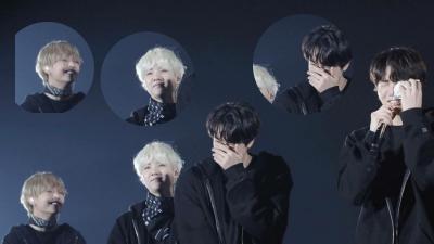 Có ai như BTS, thấy em út bật khóc trên sân khấu chỉ biết đứng cười sằng sặc