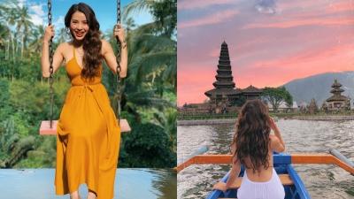 Tự thưởng cho bản thân chuyến đi 'sang chảnh', Phương Trinh Jolie gợi cảm hết cỡ ở Bali