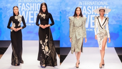 Chỉ vừa nhá hàng, những thiết kế mới tại 'Vietnam International Fashion Week' lập tức cuốn hút giới mộ điệu
