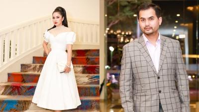 Việt Trinh diện váy công chúa trẻ trung, 'bắn tim' bên siêu mẫu Đức Tiến