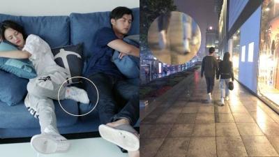 Ai như Trịnh Sảng, đi đóng phim yêu đương còn mang theo giày đôi với bạn trai ngoài đời