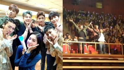 Ngày hội họp của gia đình SM: EXO, Red Velvet, TVXQ rủ nhau đi concert của Super Junior