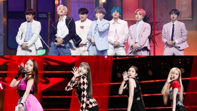 BTS bị đài truyền hình quê nhà chơi xấu, phải 'ngậm đắng nuốt cay' nhường cup cho Black Pink?