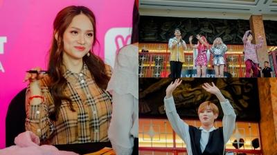 'Đụng độ' với KARD và Ha Sungwoon, Hương Giang được săn đón chẳng thua gì idol Hàn