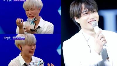 Được Kai (EXO) bắt tay, biểu cảm 'quyết không rửa tay' của chàng trai này lập tức gây sốt