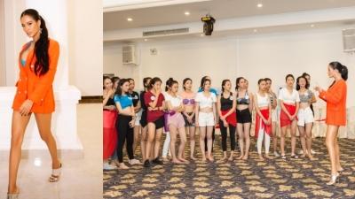 Người mẫu Như Vân nóng bỏng 'cực độ' khi trở thành HLV catwalk cho Miss World Việt Nam