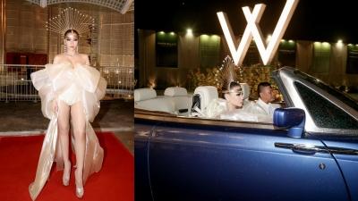 Thu Minh thần thái lộng lẫy như nữ hoàng trên thảm đỏ 'Met Gala Việt Nam'