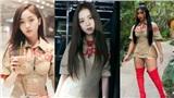 Jisoo (Black Pink) 'xử đẹp' cả mỹ nhân thế hệ mới của Trung Quốc lẫn Cardi B khi mặc đụng hàng