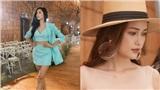 Hoàng Thùy, Ngọc Châu, Á quân The Face Quỳnh Anh 'đọ sắc' tại buổi tổng duyệt fashion show