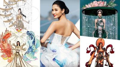 Hé lộ thông tin quan trọng về trang phục dân tộc cho Hoàng Thùy ở 'Miss Universe' sắp tới
