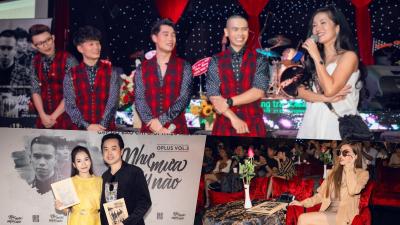 Diva Hồng Nhung, Dương Khắc Linh, Trang Pháp… đến chúc mừng Oplus ra mắt album mới