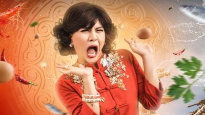 'Bà 5 Bống' phần 2: Duy Khánh tung ảnh poster với biểu cảm biến hoá, Lúc đanh đá, lúc hét toáng sợ hãi