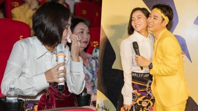 Thu Minh bật khóc tại họp báo MV 'Sáng mắt chưa': 'Tôi tự hào khi có học trò như Trúc Nhân'